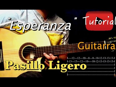 Esperanza - Pasillo tutorial/cover Guitarra