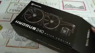 Baixar Nfortec HYDRUS 240 - unboxing - review - opinion