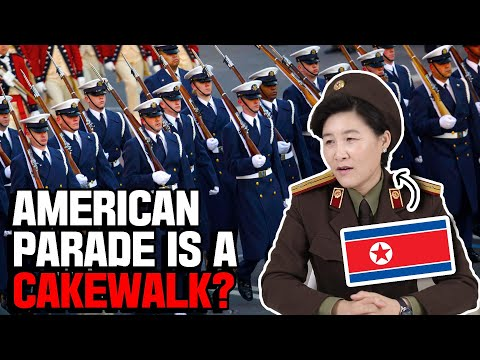 North Korean Veteran reacts to American Military Parade