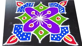 196 latest rangavalli for festival   7x7 dots   easy rangoli designs with kolam design art
