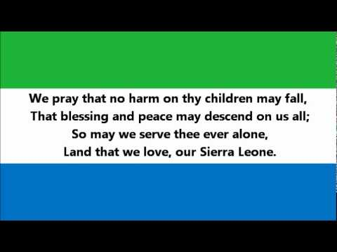Hymne national du Sierra Leone