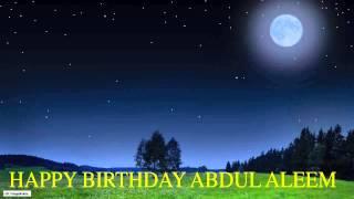 AbdulAleem   Moon La Luna - Happy Birthday