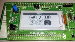 2 04 e paper display   172x72   stm32l0   ssd1606