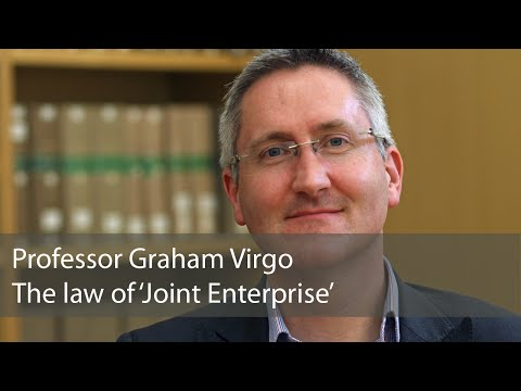 The Law of 'Joint Enterprise': Graham Virgo