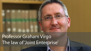 The Law of 'Joint Enterprise': Graham Virgo