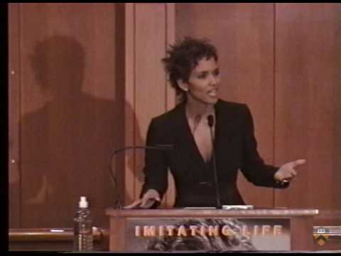 """Halle Berry, """"Women, Race, and Film,"""" 2000"""