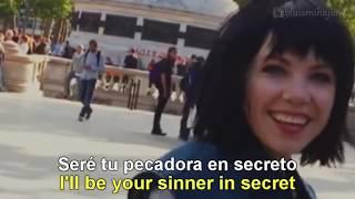 Carly Rae Jepsen . Run Away With Me [Lyrics English - Español Subtitulado]