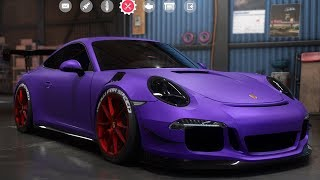 Need For Speed: Payback - Porsche 911 Carrera S (991) - Customize | Tuning Car (PC HD) [1080p60FPS]