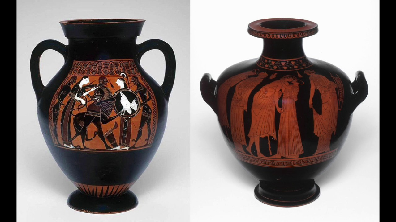 ancient greece plus greek reddish colored work classic vase essay