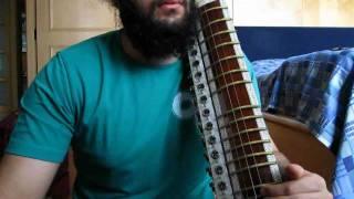 Esraj - Tune in Dadra Taal - Indian Classical Music