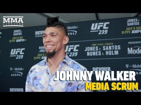 Johnny Walker says he won't hurt himself celebrating again