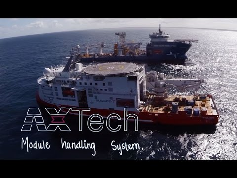 AXTech equipment on Åsgard subsea gas compression field