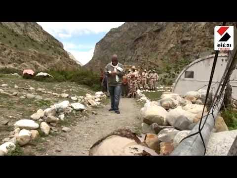 ITBP HIM VEER RAKSHAK  INDIA CHINA BORDER DANGEROUS POST AT 14000 FT HEIGHT SANDESH NEWS
