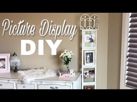 Wedding DIY   Dollar Tree DIY   DIY Picture Display
