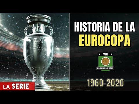 La HISTORIA De La EUROCOPA 🇪🇺🏆 Todas Las FINALES Y Campeones EURO (1960-2016) Memorias Del Fútbol