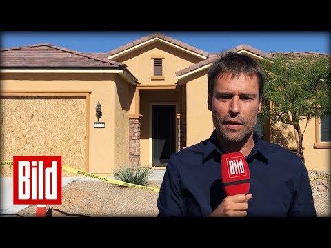 Haus des Massenmörders von Las Vegas - In Mesquite, Nevada - BILD vor Ort