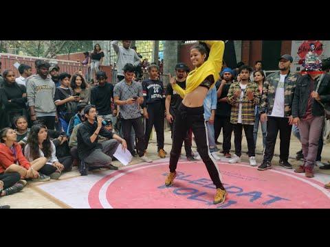 Dance battle in Hansraj college | hip hop dancers in Delhi University