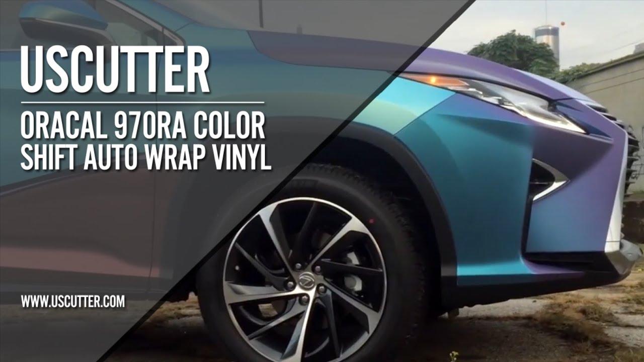 ORACAL 970RA Color Shift Auto Wrap Vinyl with Rapid Air® Technology