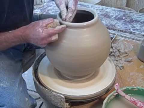 how-to-make-a-ceramic-covered-jar,-part-one