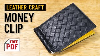[leather craft]making a intrec…