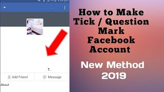 How to Make Tick Mark Facebook Account || How to Make Invisible Name ID