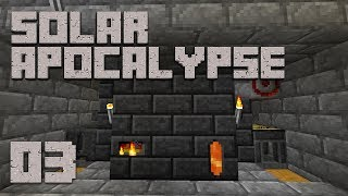 ►Solar Apocalypse LP: IT SMELTS! | Ep. 3 | Modded Minecraft Survival◄ | iJevin