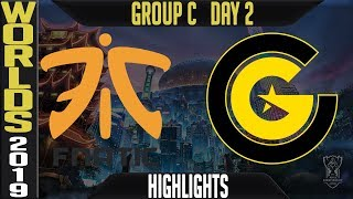 FNC vs CG Highlights Game 1 | Worlds 2019 Group C Day 2 | Fnatic vs Clutch Gaming - EU vs NA