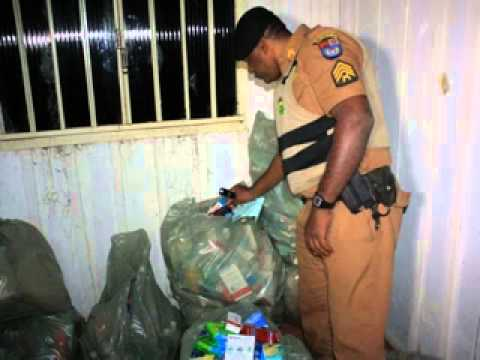 Polícia apreende grande carga de remédios em Iretama e investiga a origem dos mesmos from YouTube · Duration:  2 minutes 17 seconds