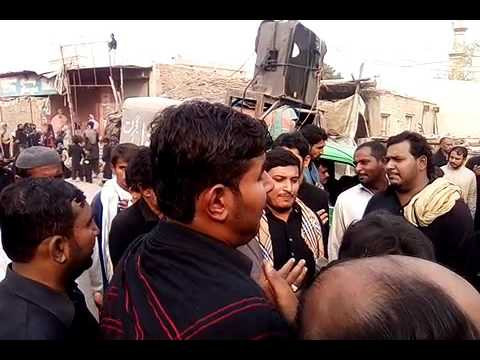 NA Akhian Bnd Kr NAizay Tay Noha By MAnjotha Party Chehlum At Mehmood Kot City