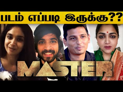 "Stars and Celebrities Review For ""Master""   Tamil   Vijay   VJS   Lokesh Kanagaraj   Tamil Cinema"