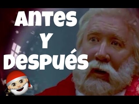 santa clausula antes & despues (santa clause before & after)