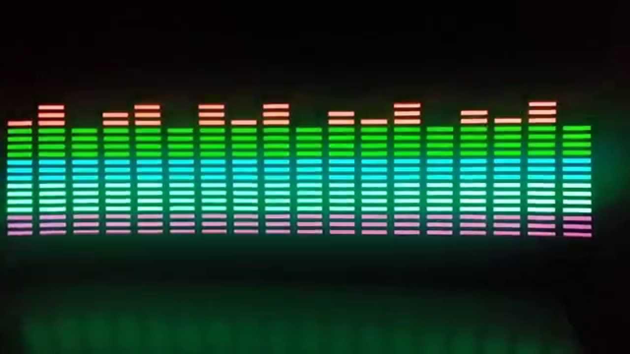 flash car sticker music rhythm led el light equalizer youtube. Black Bedroom Furniture Sets. Home Design Ideas