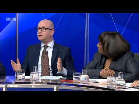 UKIP MEP Paul Nuttall on Question Time