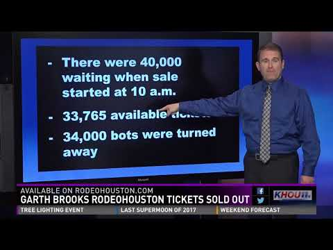 Garth Brooks RodeoHouston tickets are sold out