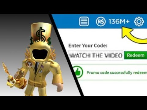 ROBLOX PROMO CODE GIVES YOU 10 MILLION ROBUX FOR FREE?! [STILL WORKING 2019]