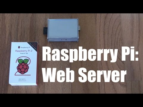 Raspberry Pi:  Setup a Web Server Quick and Easy (step-by-st