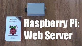 Raspberry Pi:  Setup a Web Server Quick and Easy (step-by-step)