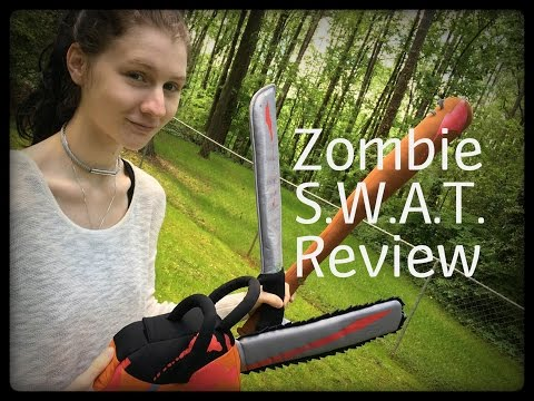 Honest Review: Zombie S.W.A.T. Plush Weaponry
