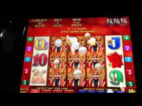 Fafafa slot machine gambling win and losses