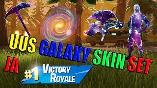 Fortnite – The new Galaxy Skin Set and Victory Royale! (In Estonian!)