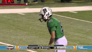 Roswell vs Colquitt County - 2015 Flashback   Football Fridays In Georgia