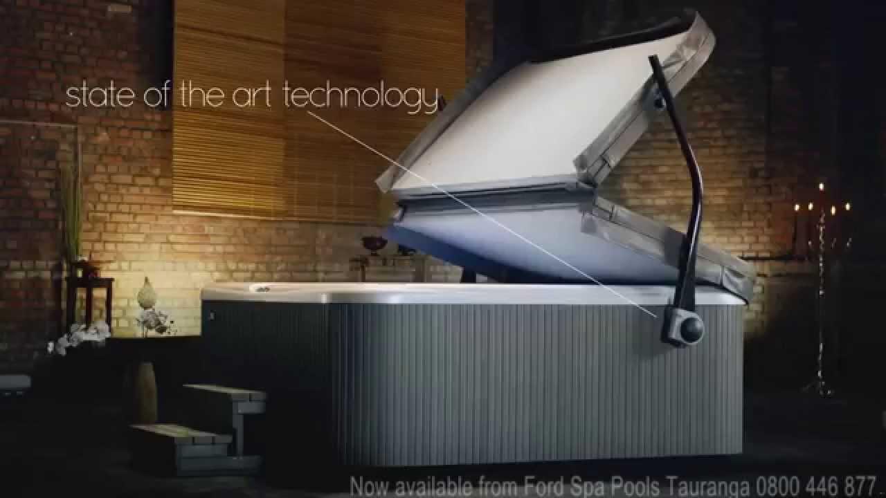Hotspring Foldaway Hot Tub Cover Lifter Youtube