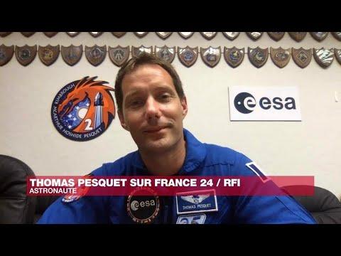 'L'espace me manque quand je suis sur Terre', confie l'astronaute Thomas Pesquet