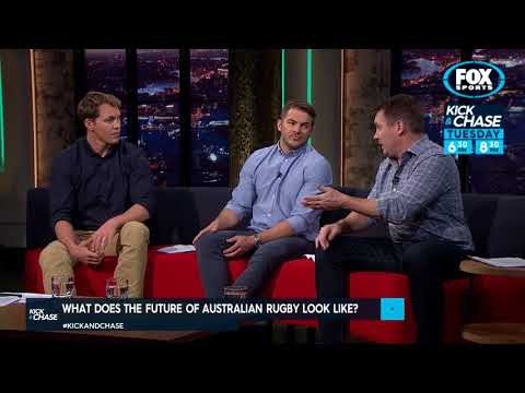 Rugby Kick and Chase - Australian Rugby Future