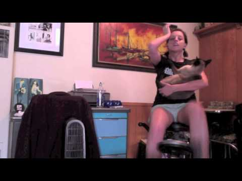 Elvis the Siamese Cat vs the Exercise Bike