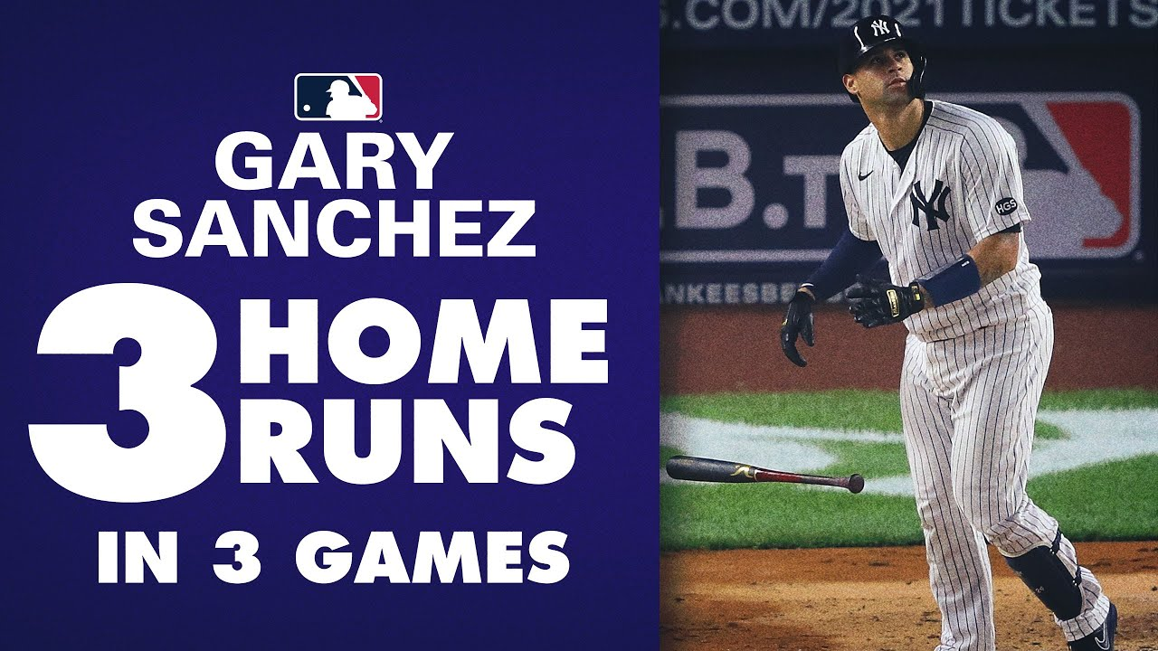 Kraken heating up! Yankees' Gary Sanchez goes deep for 3rd time in 3 games vs. Red Sox!