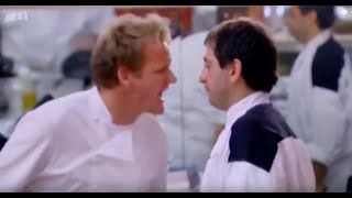 Uncensored - Gordon Ramsay has violent angry rage in Hells Kitchen - must see