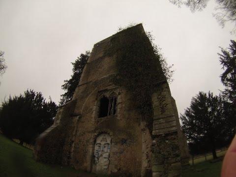 HAUNTED RUINS - Cold Christmas Church LarryExplores