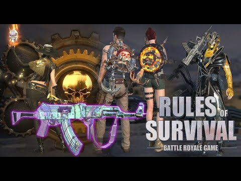 Amazing BackPack & Top Up Skins - Rules Of Survival Update