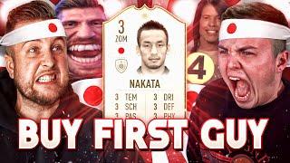 FIFA 19: ICON NAKATA Buy First DREEIII GUY vs NOHANDGAMING 🔥😱